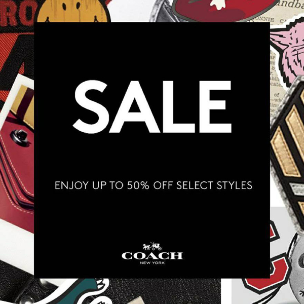 Promotion Coach End of Season Sale up to 50% Off [Jun.2017]