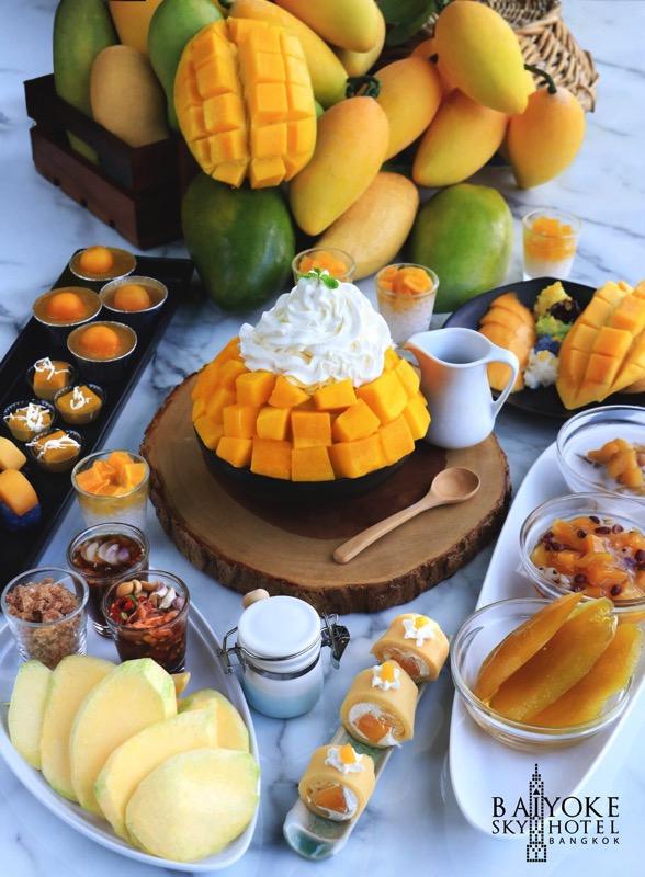 Promotion Fruit Buffet Durian and Mango Fever at Baiyok Sky Hotel Bangkok P02