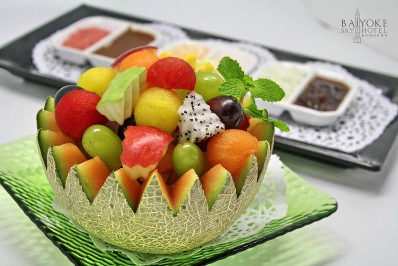 Promotion Fruit Buffet Durian and Mango Fever at Baiyok Sky Hotel Bangkok P05