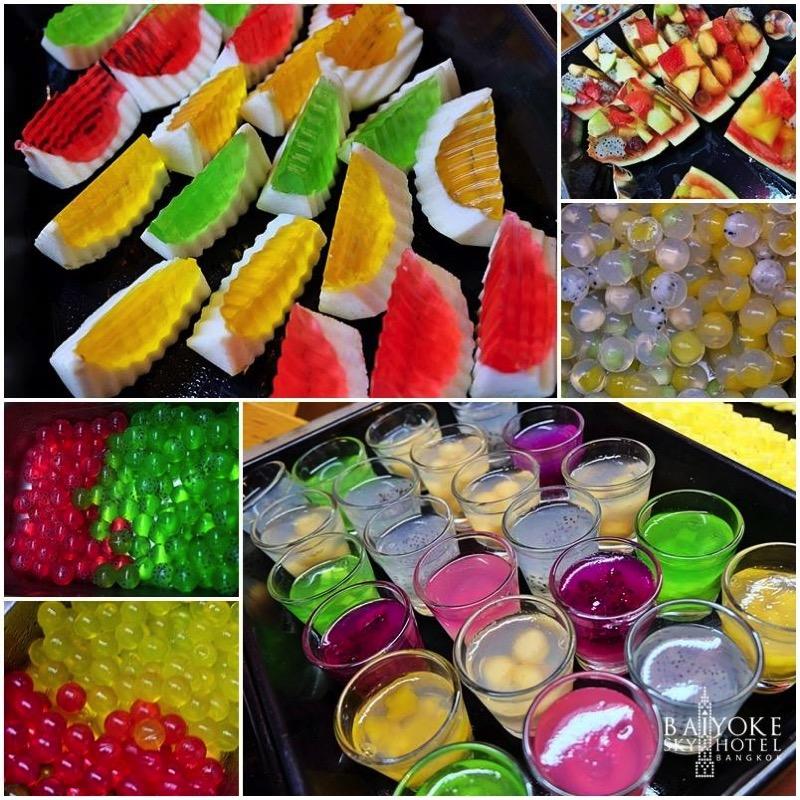 Promotion Fruit Buffet Durian and Mango Fever at Baiyok Sky Hotel Bangkok P06