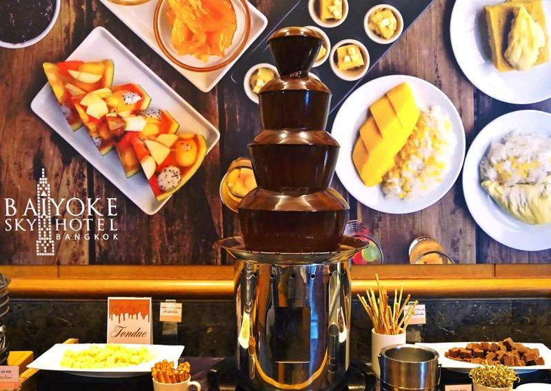 Promotion Fruit Buffet Durian and Mango Fever at Baiyok Sky Hotel Bangkok P07