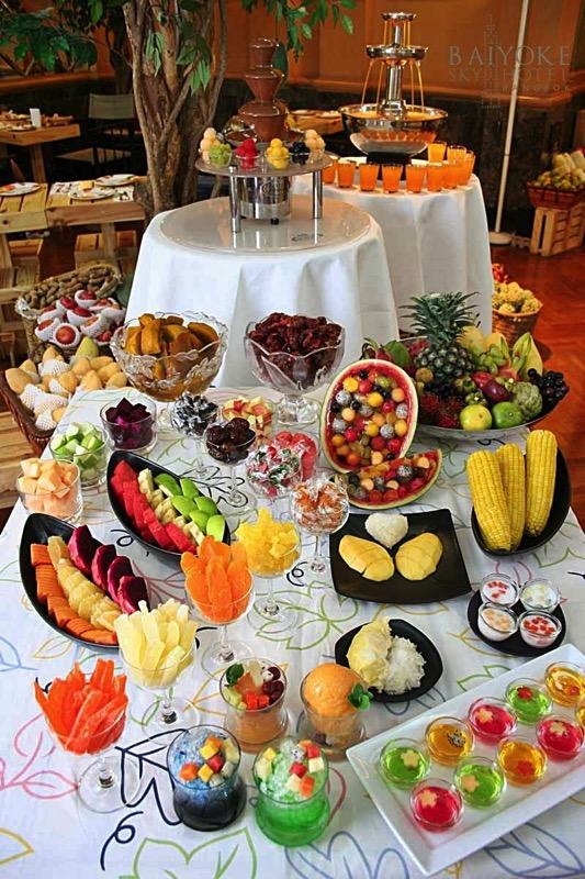 Promotion Fruit Buffet Durian and Mango Fever at Baiyok Sky Hotel Bangkok P08