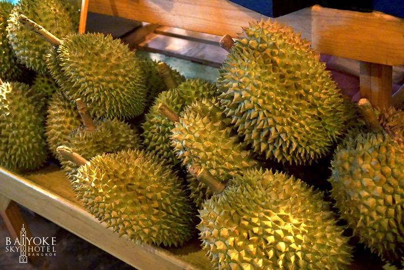 Promotion Fruit Buffet Durian and Mango Fever at Baiyok Sky Hotel Bangkok P09