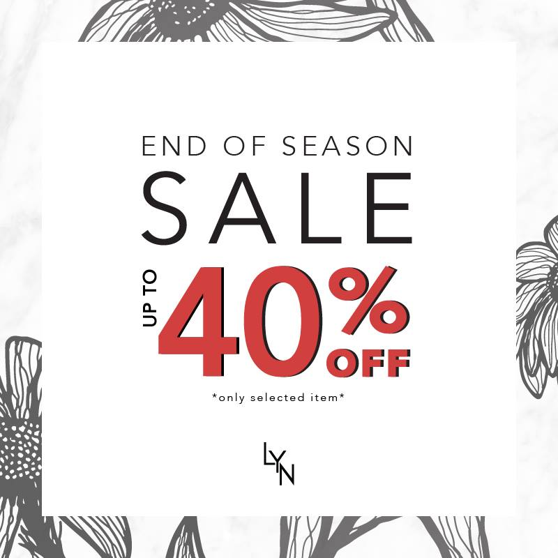 Promotion Lyn End of Season Sale up to 40% [June.2017]