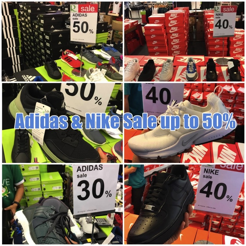 Promotion Adidas  Nike Sale up to 50 Off  Robinson Clearance Sale 2017 FULL