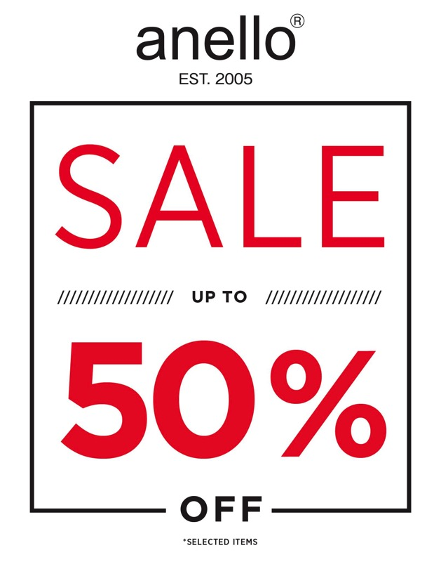 Promotion Anello End of Season Sale up to 50 Off Jul 2017 P02