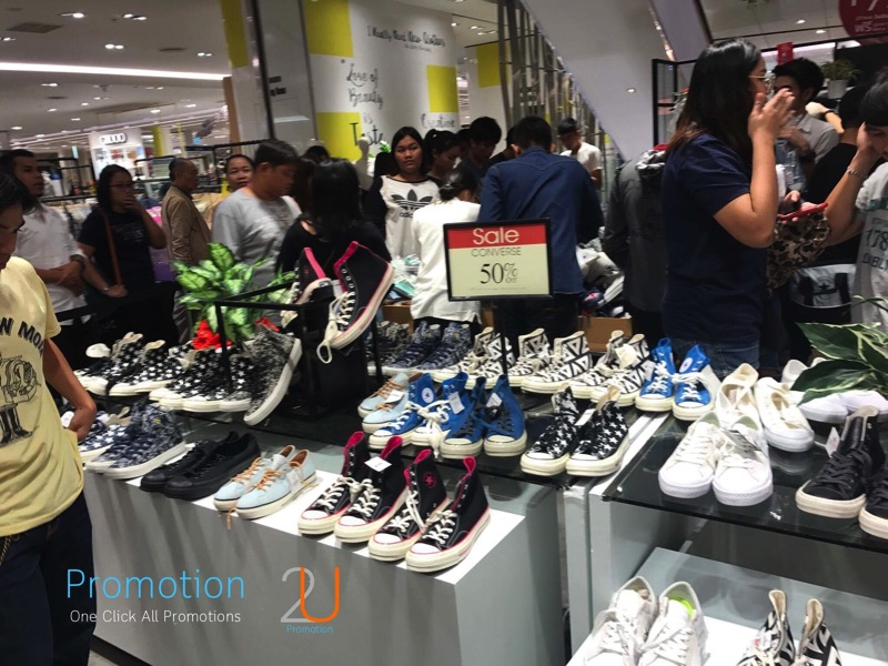 Promotion Converse Sale 50 started at 100 Baht P02