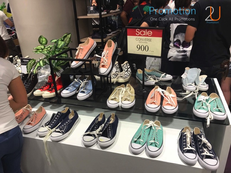 Promotion Converse Sale 50 started at 100 Baht P04