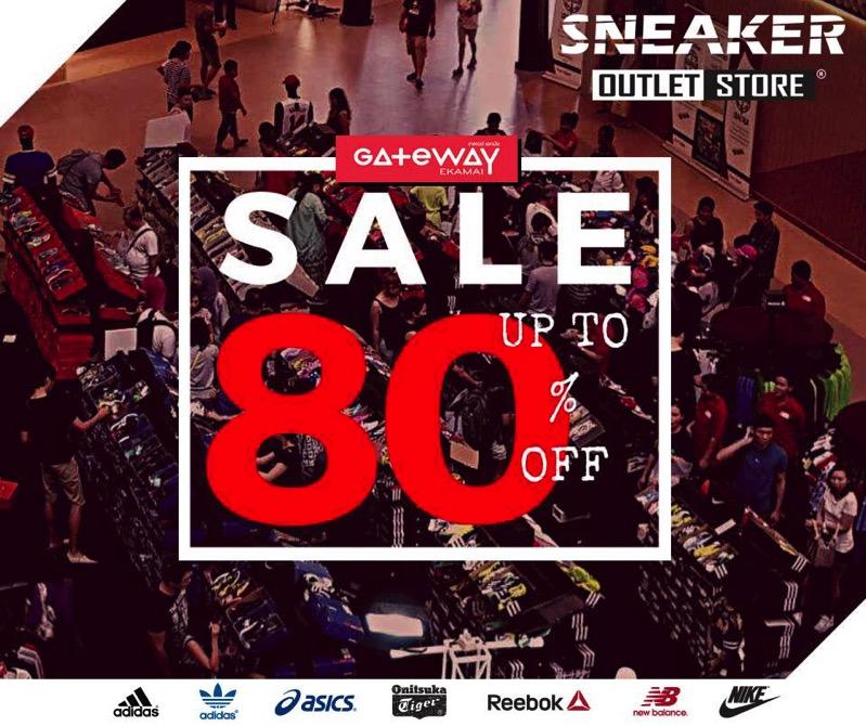 โปรโมชั่น Sam's Sports Sneakers Outlet SALE ลดสูงสุด 80% (สค.60)
