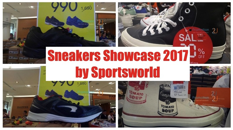 Promotion Sneakers Showcase 2017 by Sportsworld