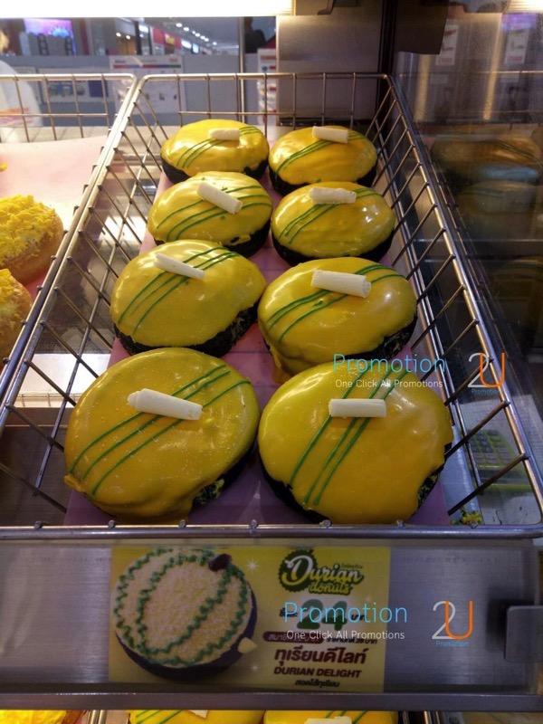 Promotion Dunkin Donuts Durion Fever4