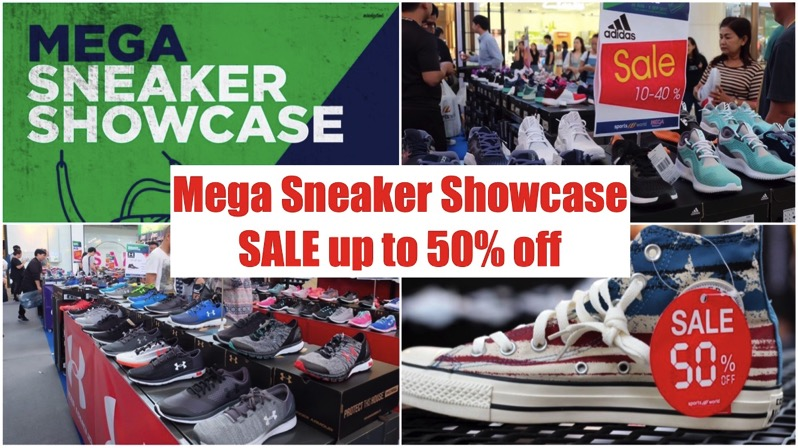 Promotion Mega Sneaker Showcase SALE up to 50 off PFULL