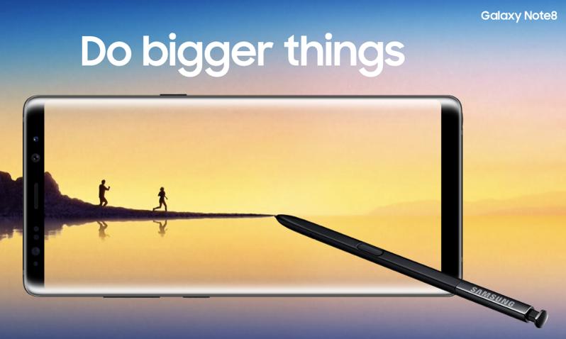 Promotion TrueMove H Pre Booking Samsung Galaxy Note 8 design