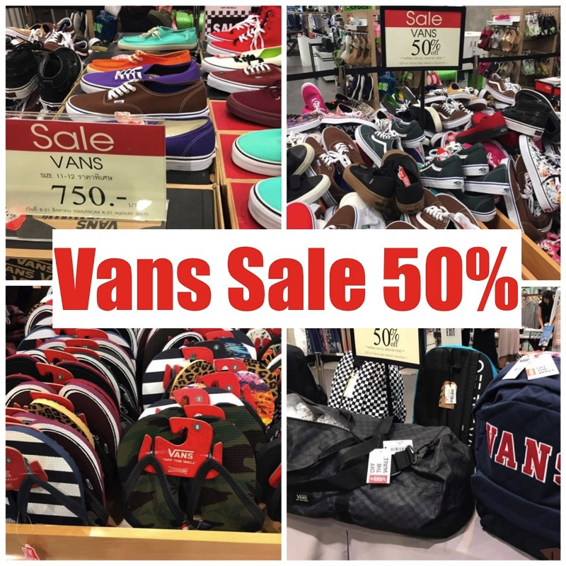 Promotion Vans Sale 50 At central ladprao P01