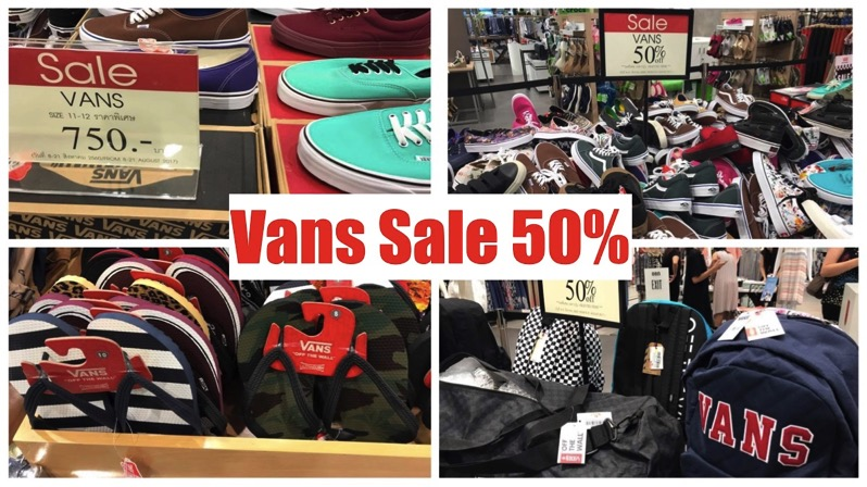 Promotion Vans Sale 50 At central ladprao P02