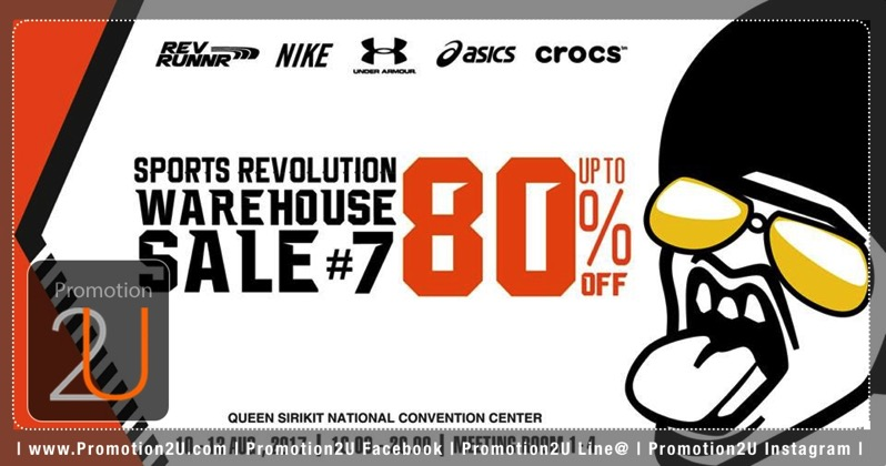 Promotion sports revolution warehouse sale 7 nike asics under armour crocs sale up to 80 aug 2017 P01