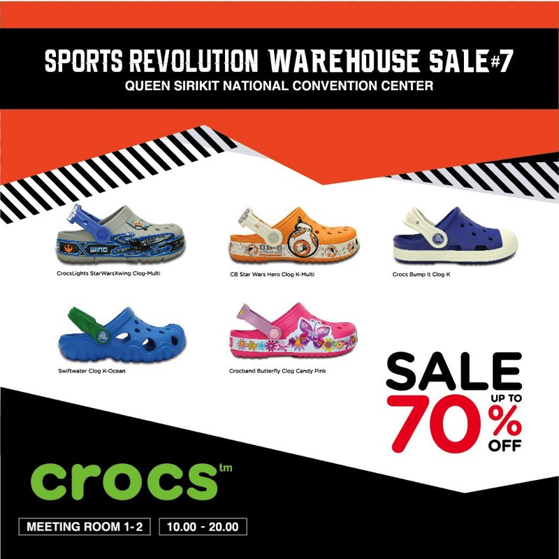 Promotion sports revolution warehouse sale 7 nike asics under armour crocs sale up to 80 aug 2017 P03