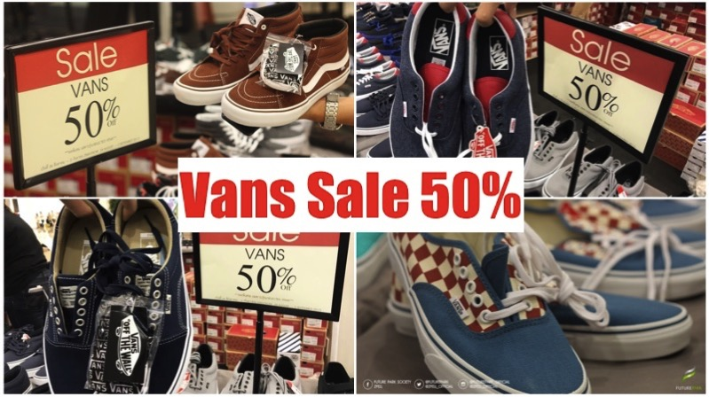 Promotion vans sale 50 all items future park rangsit aug 2017 Thumb