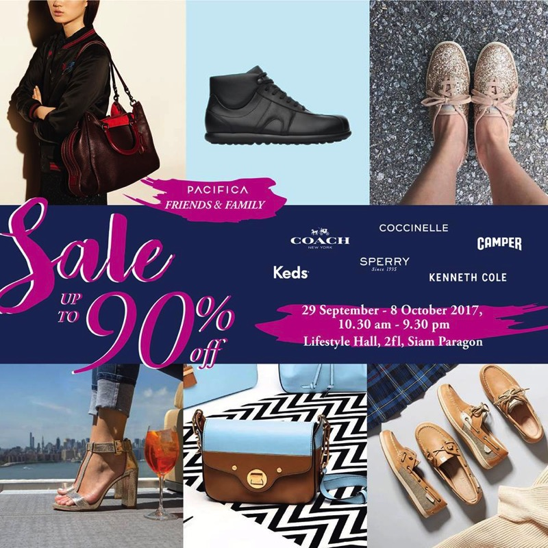 Promotion PACIFICA Friends and Family Sale 2017 up to 90 Off Oct 2017 FULL