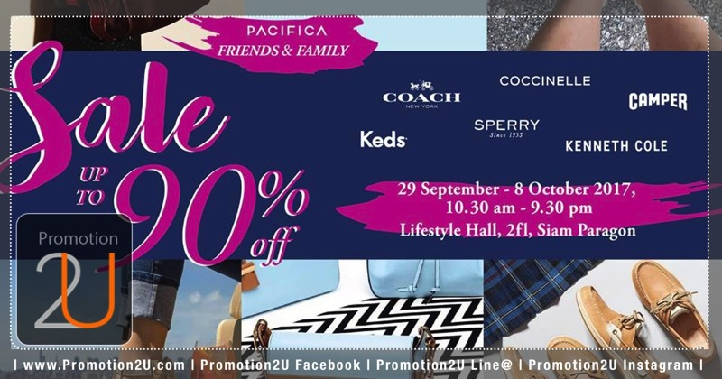 Promotion PACIFICA Friends and Family Sale 2017 up to 90 Off Oct 2017