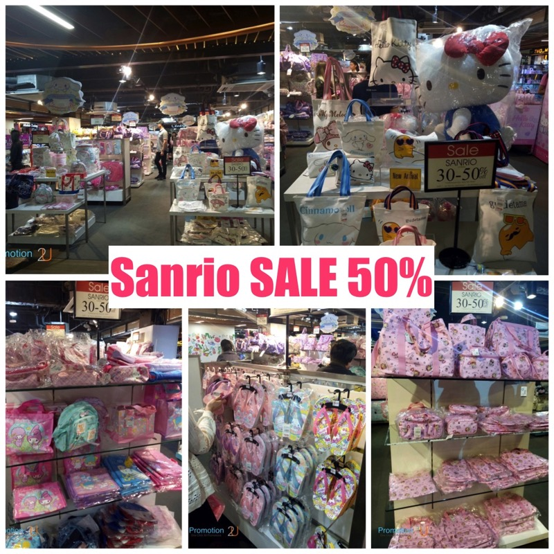 Promotion Sanrio Sale up to 50 Off  Sep 2017 FULL