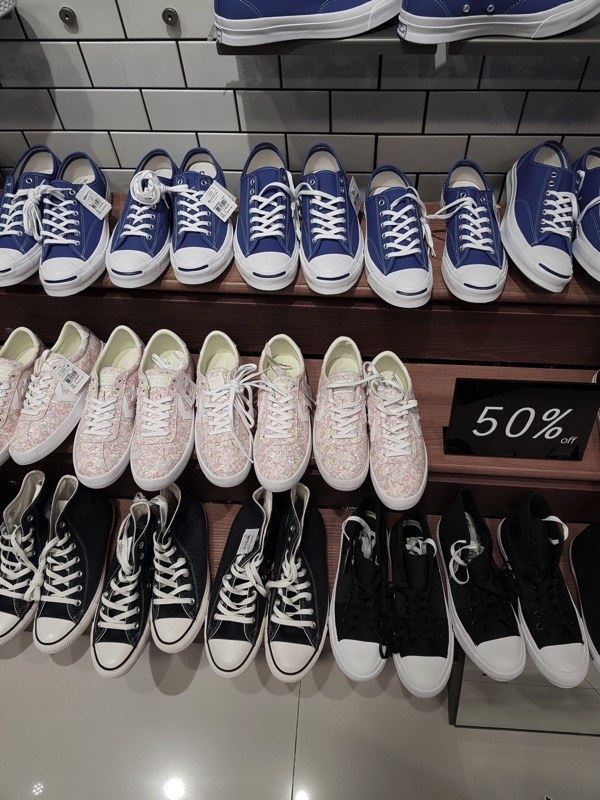 Promotion Converse Sale up to 50 Off at Centerpoint Of Siam Square P02