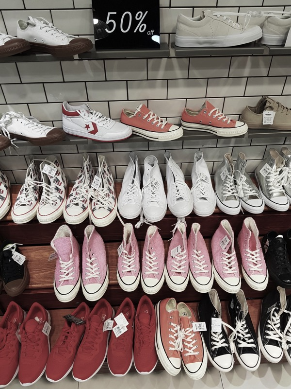 Promotion Converse Sale up to 50 Off at Centerpoint Of Siam Square P07