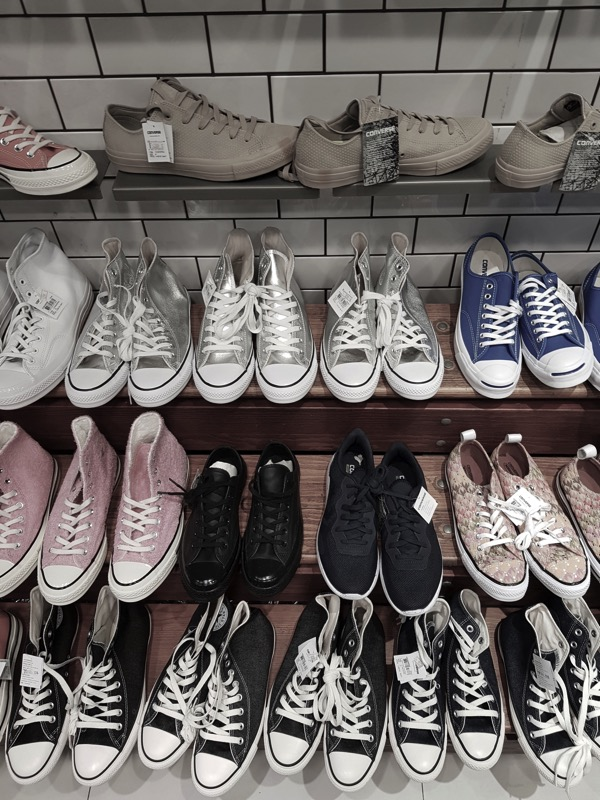 Promotion Converse Sale up to 50 Off at Centerpoint Of Siam Square P09