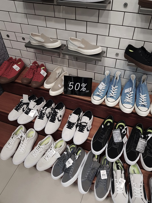 Promotion Converse Sale up to 50 Off at Centerpoint Of Siam Square P13