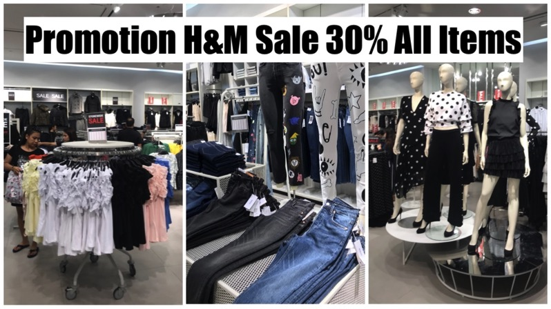 Promotion HM Sale 30 All Items Oct 2017 P01