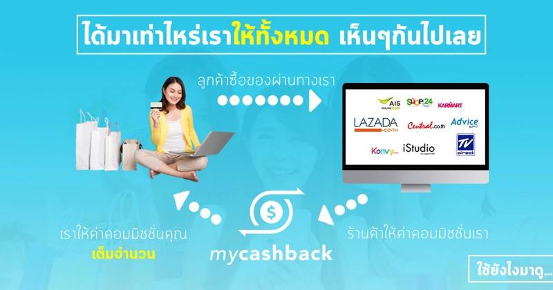 Promotion MyCashback Shop Online Get Cashback P03