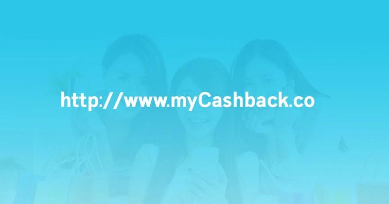 Promotion MyCashback Shop Online Get Cashback P09
