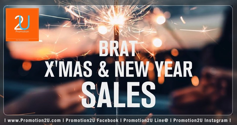 Promotion Bratpack X MAS  New Year SALE up to 70 Off