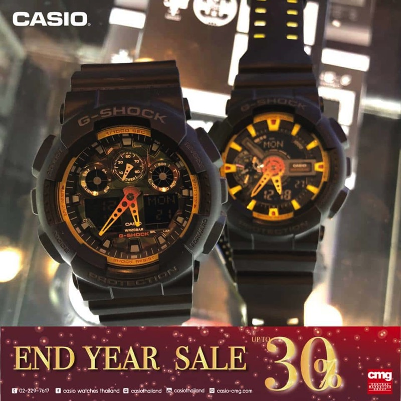 Promotion CASIO End Year SALE 2017 Sale up to 30 Off P09