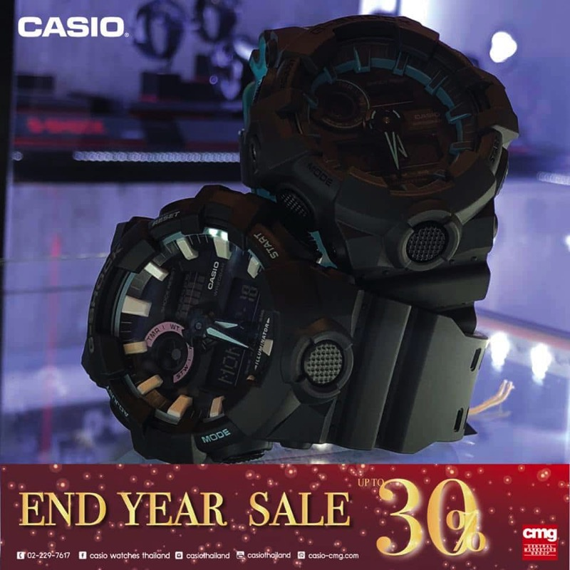 Promotion CASIO End Year SALE 2017 Sale up to 30 Off P10
