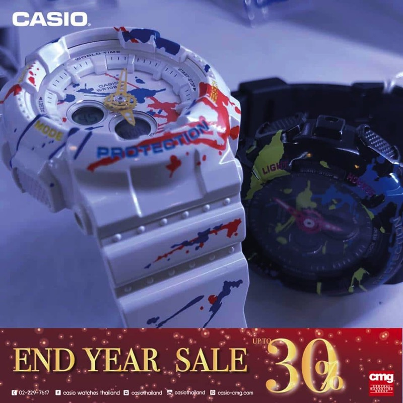 Promotion CASIO End Year SALE 2017 Sale up to 30 Off P12