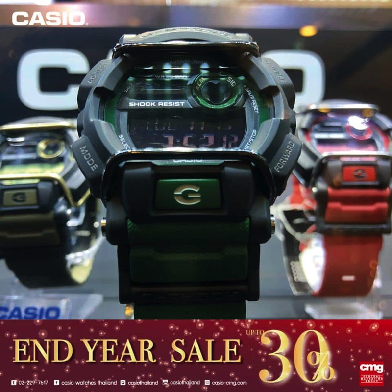Promotion CASIO End Year SALE 2017 Sale up to 30 Off P13