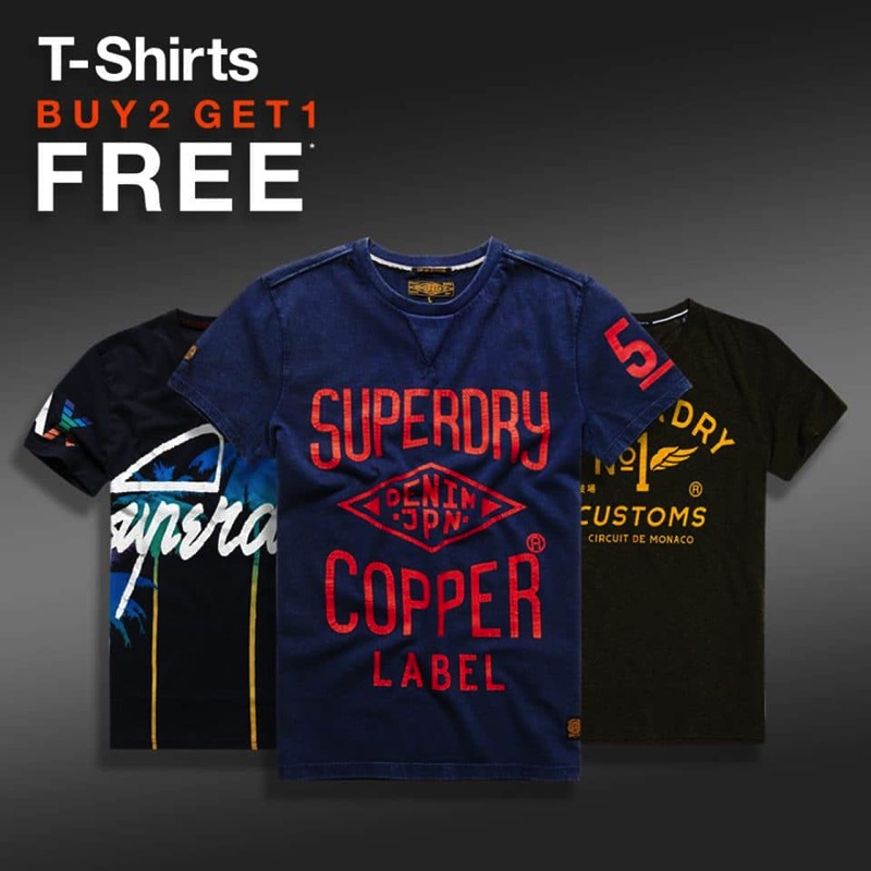 Promotion Superdry Winter Sale 2017 Buy 1 Get 1 Free P01