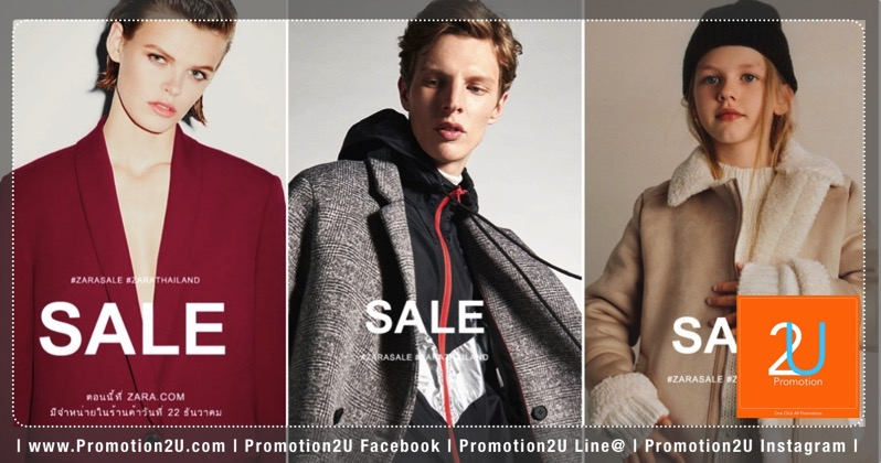Promotion ZARA End of Season Sale up to 50 Off  Dec 2017