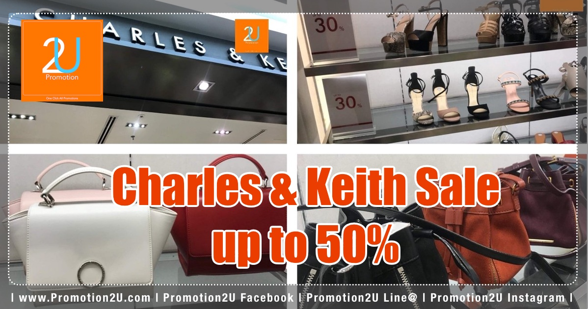 Promotion charles keith end of season sale up to 50 off dec 2017