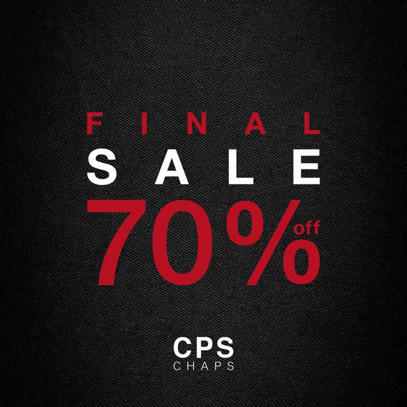 Promotion CPS CHAPS End of Season Final Sale 70  Jan 2018 FULL
