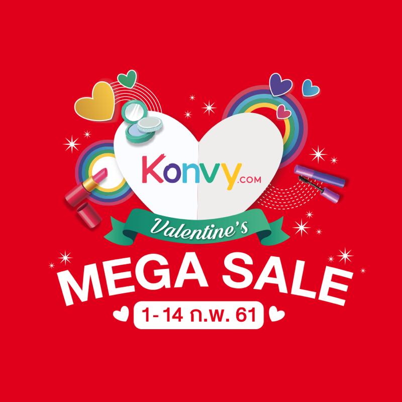 Promotion Konvy Valentines Mega Sale 2018 up to 90 Off P03