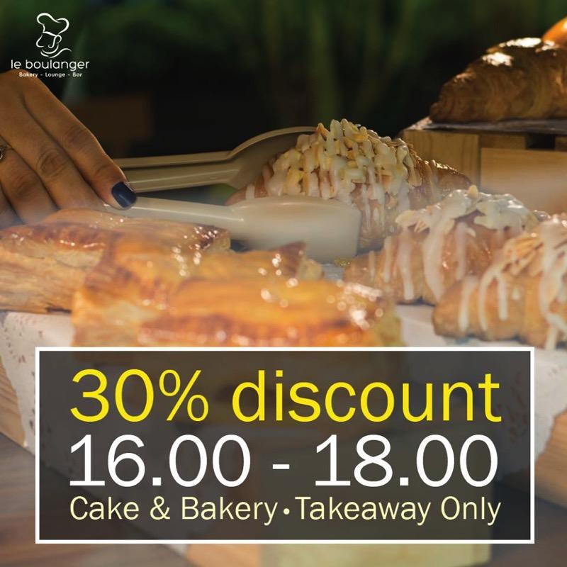 Promotion Le Boulanger Buffet Cake 2018 P10