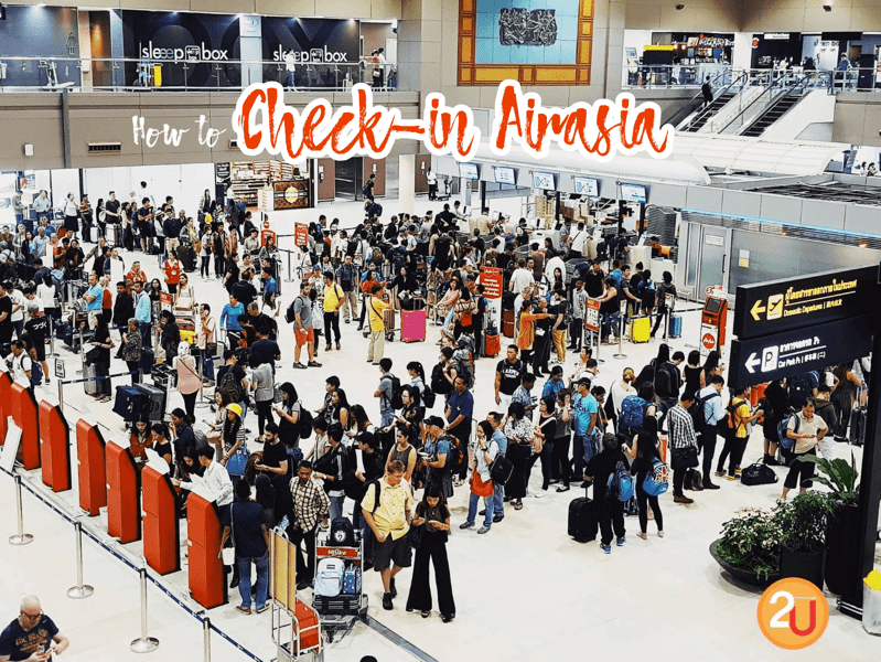How to Check In and Load Baggage AirAsia 2018 P03