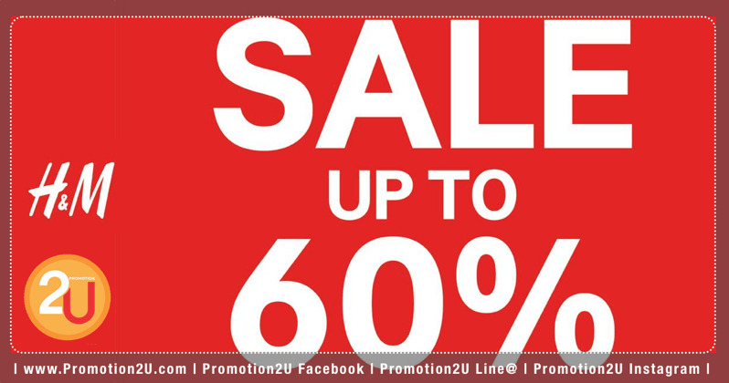 Promotion H M Mid Season Sale up to 60 Off  Mar 2018