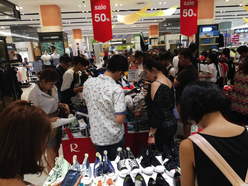 Promotion converse grand sale up to 50 off at central rama 9 P04
