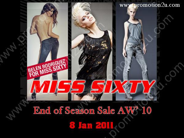 MISS SIXTY & ENERGIE End of Season Sale AW' 10 ลดสูงสุด 30 - 40%
