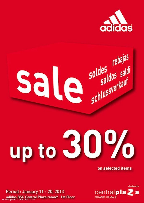 49610116127 Promotion Adidas Sale up to 30% off   Adidas Flagship Store Jan.2013