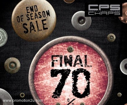 Promotion CPS CHAPS End Of Season Sale up to 70% off Jan.2013
