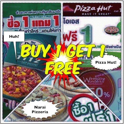 all promotion pizza buy 1 get 1 free 2013